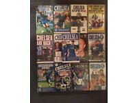 Chelsea FC vhs tapes x14