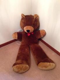 Giant teddy bear 170cm good quality like new