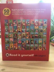 50 ladybird read it yourself books