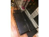 Dog puppy crate / bed / cage