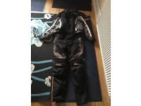 Spada jacket and trousers motorcycle gear