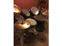 Mapex Drum Kit (M Series) with Sabian Cymbals