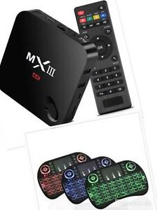 Special Android Box MX III 2 GB Ram fully loaded w/qwerty keyboard