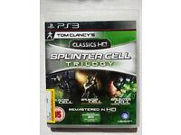 Splinter Cell HD Trilogy - PS3 (PlayStation 3)