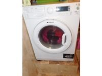 Hotpoint WDUD9640P 9Kg / 6Kg Washer Dryer with 1400 rpm - White. FAULTY BEARING