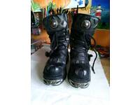 New rock boots size five