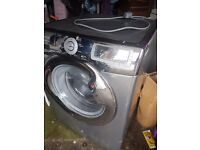 11kg washing machine silver all working just need room