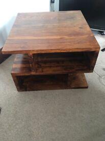 Solid Oak Coffe Table
