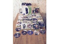 Xbox 360 console and 40 games bundle