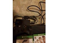 Xbox one 2 games and controller.