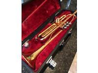 Yamaha YTR1335 Gold Trumpet