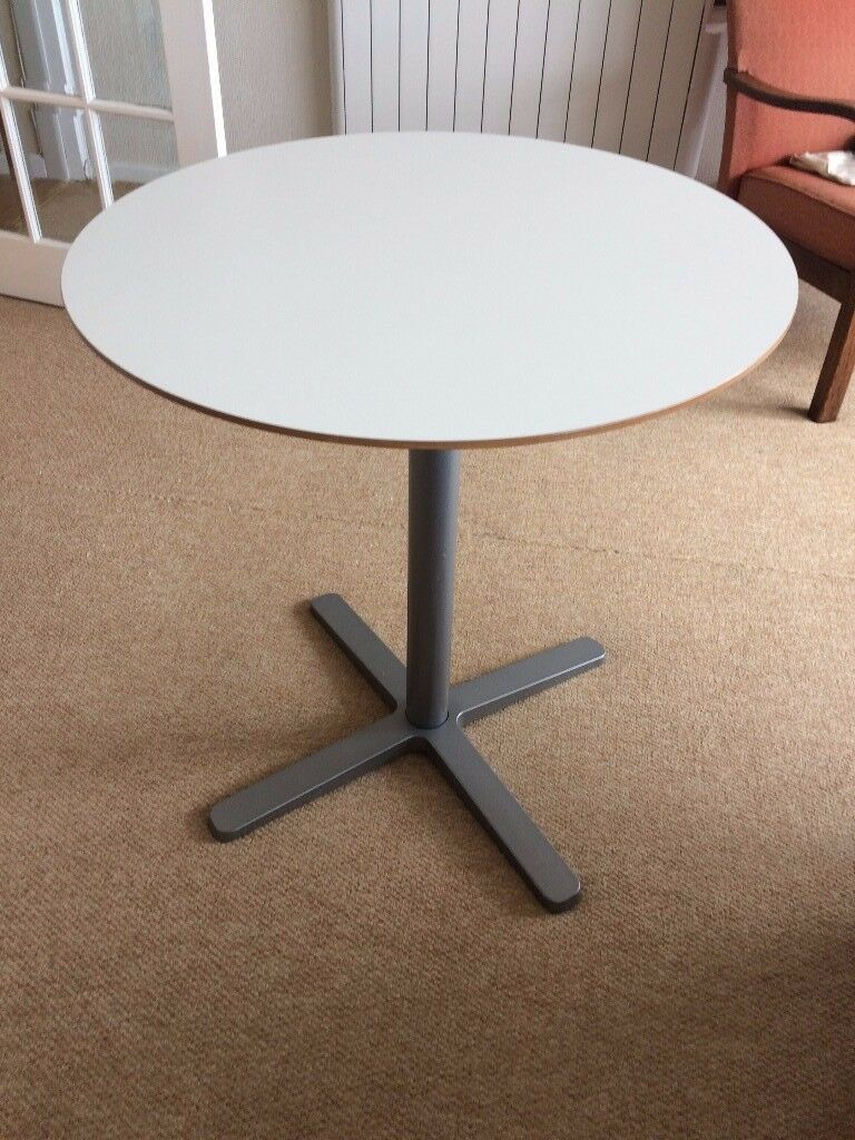 White Bistro Table - Ikea Billsta