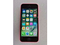 APPLE IPHONE 5C PINK EE 16GB WITH RECEIPT