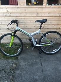 Adult mountain bike (folds up)