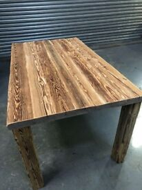 Solid pine handcrafted rustic looks Tabletops
