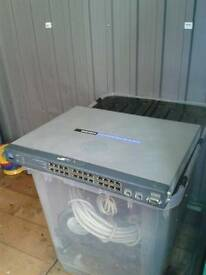 Linksys SRW2024 24 port gigabit switch