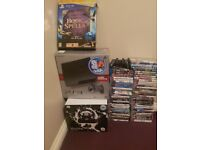 Ps3 with loads of accessories, 54 games, 5 blue ray discs, Wii with Wii fit, u draw, Zumba, 12 games