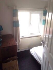 Double room to rent part furnished in a clean respectable household