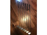 Golf clubs - Cobra Irons and woods