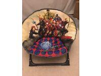 Kids Avengers chair and cushion