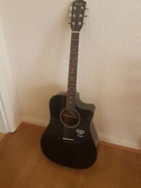 FENDER CD-60CE 'Cutaway' Electro Acoustic Guitar CD 60 CE BK