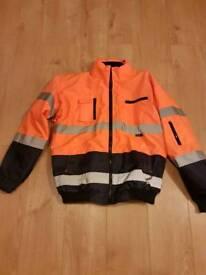 Hi Viz Orange Jacket
