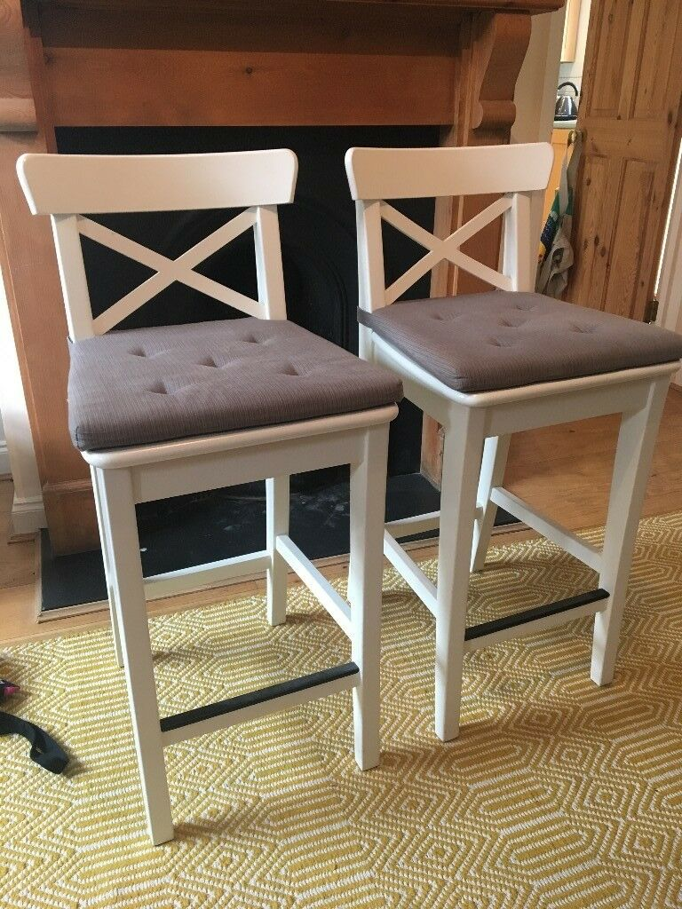 Strange 2 X Ikea Ingolf Bar Stool Chair 63Cm In Henley On Thames Oxfordshire Gumtree Andrewgaddart Wooden Chair Designs For Living Room Andrewgaddartcom