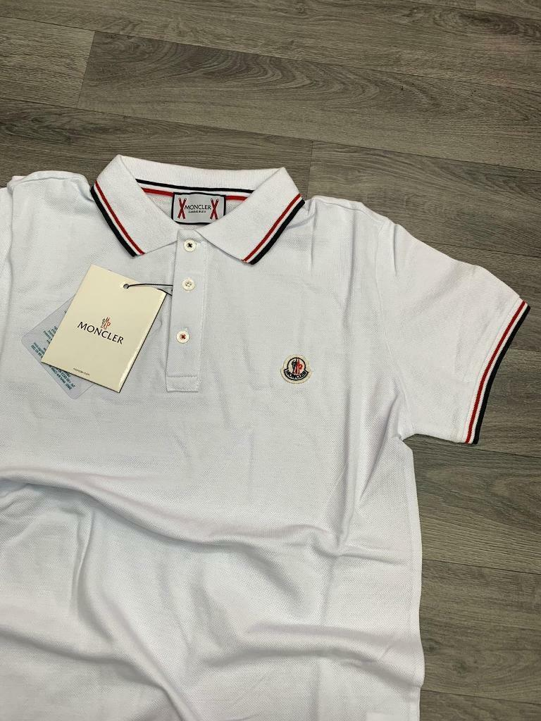 0f84f07e Mens Designer White Polo Shirts - Aztec Stone and Reclamations