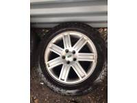 SET OF 4 WHEELS & TYRES LAND ROVER