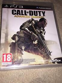 Call of duty advanced warfare ps3 (quantity 2)