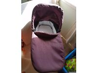 Graco evo carry cot