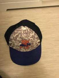 Boys spider man hat