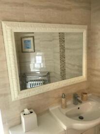 White large mirror