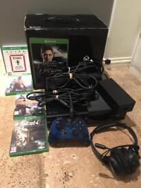 Xbox one 500gb Console Boxed With Kinect & Games
