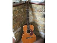 Tanglewood TW40 -PAN six string Acoustic Parlour size Guitar in great condition