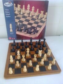 pavilion chess board game age 6+ only used once