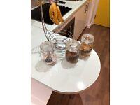 Fruit Bowl + Retro Jar Set