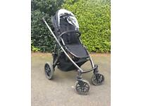 Uppababy vista push chair and rumble seat