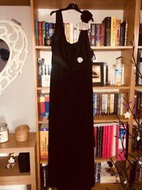Black next maxi dress