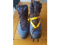 Mens Salomon X Alp MTN GTX B1 Boots C1 compatible Winter Walking Boots