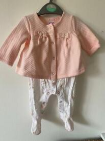 Ted Baker baby girl outfit 0-3 months