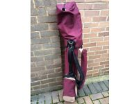 Ladies Golf bag and clubs