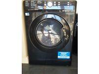 Black Indesit washer/dryer spares or repairs