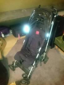 Maclaren Stroller + extras