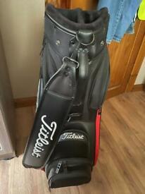 Titleist jet black cart bag