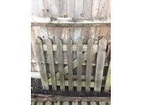 Picket Fencing & Gate