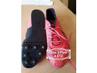 Size 3 spikes
