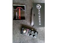 Pigtronix Disnortion micro overdrive fuzz retails at £150