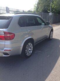 BMW X5 , 7 seats diesel m sport new shape 58 reg