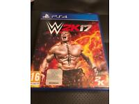 W2k 17 PS4 game